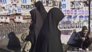 Mulheres em Teerã Foto AP