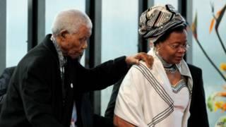 Nelson Mandela dan Graca Machel