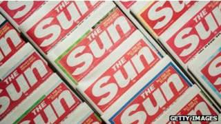 英国小报《太阳报》