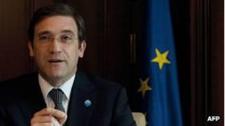 Primer ministro de Portugal, Pedro Passos Coelho