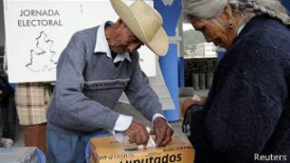 Votaciones en México
