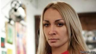 La chef de file des Femen, Inna Shevchenko dénonce des menaces envers les activistes de son groupe.