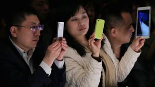 Pengguna ponsel Cina