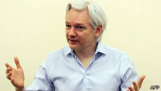 Julian Assange, fundador de WikiLeaks y líder del Partido WikiLeaks de Australia