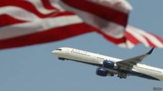 Máy bay của hãng Delta Airlines, Mỹ