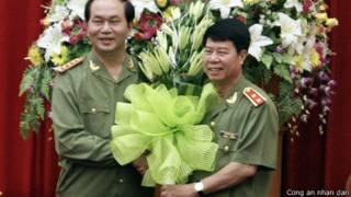 Bộ trưởng Trần Đại Quang chúc mừng ông Bùi Văn Nam