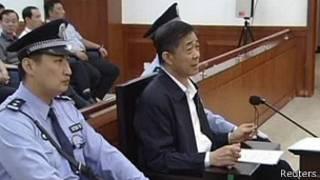Bo Xilai en Corte