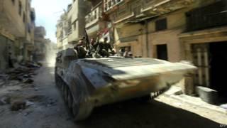 Fuerzas gubernamentales en Siria