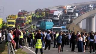 ब्रिटेन, केंट कार दुर्घटना
