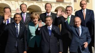 Líderes do G20 (Foto AFP)