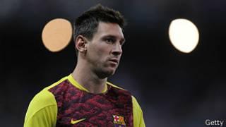 El futbolista del Barcelona.