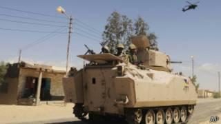 Soldados en Egipto