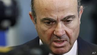 Luis de Guindos, ministro de Economía español