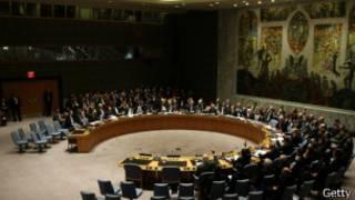 Baraza la Usalama la Umoja wa Mataifa likipiga kura kuhusu Syria