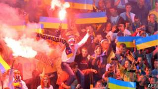 Racismo y pirotecnia en el partido de Ucrania ante San Marino, 6 de septiembre de 2013