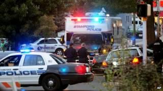 Cảnh sát đã bao vây khu nhà ở Stamford, Connecticut