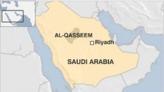 peta Saudi