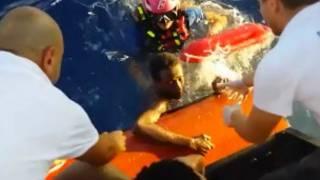 Rescate en Lampedusa