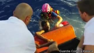 Lampedusa, rescate con vida de una persona
