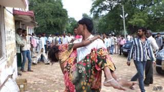 L'Inde a connu plusieurs bousculades sanglantes ces dernières années en marge de fêtes religieuses.