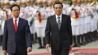 Thủ tướng Nguyễn Tấn Dũng và Lý Khắc Cường