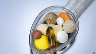 Vitaminas. Foto de archivo