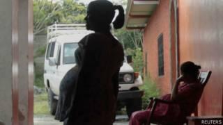 Jovem grávida na Nicarágua. Foto: Reuters