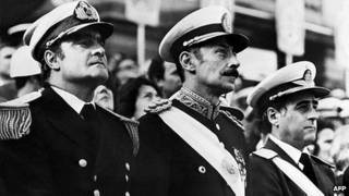 Junta militar argentina