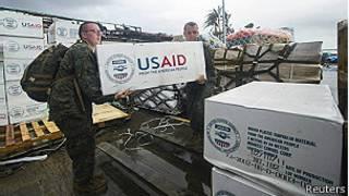 Soldados con ayuda internacional