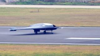 चीन स्टेल्थ ड्रोन