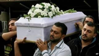 Funeral  en Damasco
