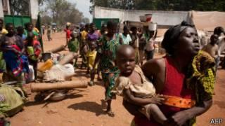 Violencia en República Centroafricana