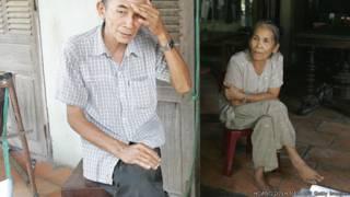 Người già ở Củ Chi, thành phố Hồ Chí Minh