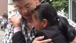 Luo reencontra a mãe biológica depois de 23 anos | Foto: Arquivo pessoal