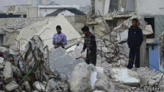 Niños en Damasco