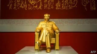 Estatua de Mao en China