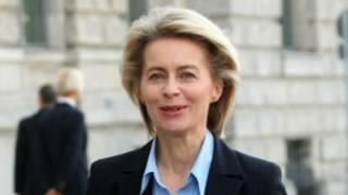 Ursula Von der Leyen, ministra alemana de Defensa