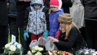 Ceremonia en Lockerbie