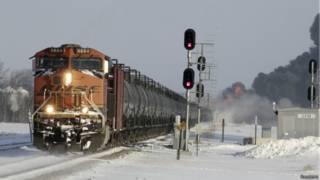 अमरीका, ट्रेन दुर्घटना