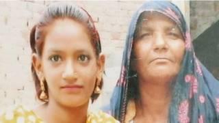 Menina paquistanesa Iram. Foto: BBC