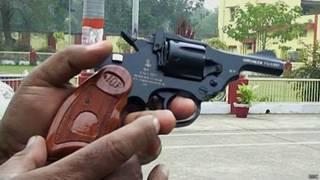O revólver Nirbheek (BBC)