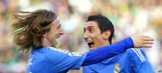 Angel Di Maria y Luka Modric