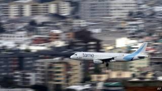 Avión de Tame