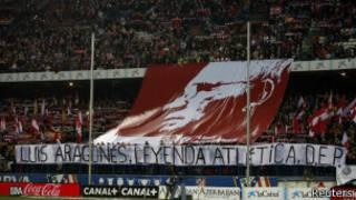 Homenaje en el Calderón