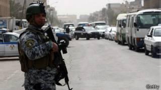 Zona Verde en Bagdad