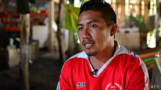 Román Córdova Ríos, hermano del náufrago  mexicano Ezequiel que murió camino a Islas Marshall