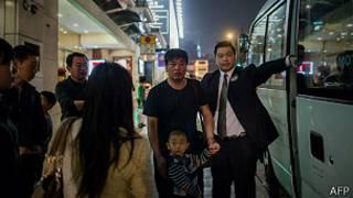 Evacuacion en Hong Kong