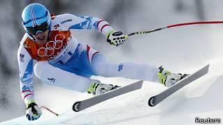 El austriaco Matthias Mayer en esquí alpino