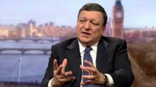巴罗佐16日接受BBC早间新闻节目采访
