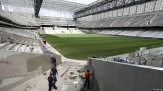 Arena da Baixada em 17 de fevereiro de 2014 | Foto: Reuters